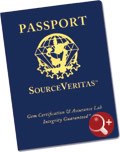 SourceVeritas Passport Cover